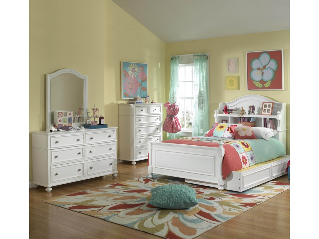 060ab7478dca Legacy Classic Kids Madison 2830 F 4Pc Group 4 Piece Full Bedroom ...