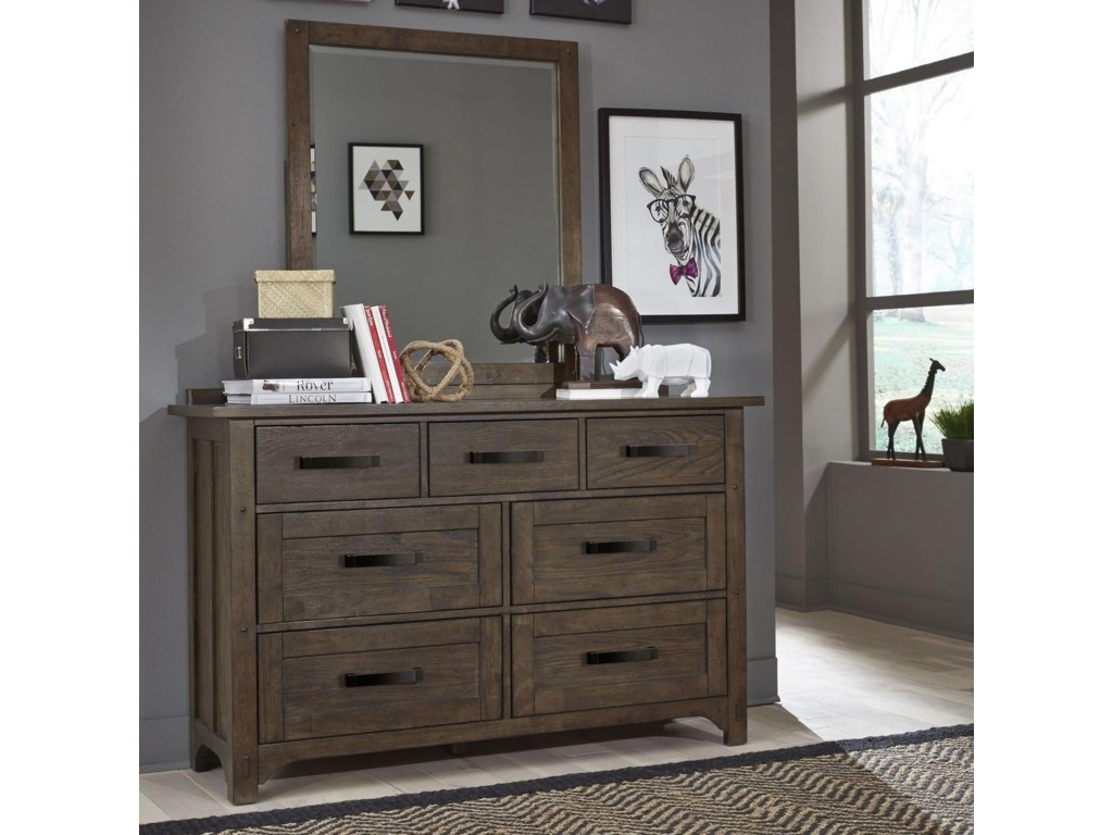 Legacy Classic Kids Mill CreekDresser and Mirror Set