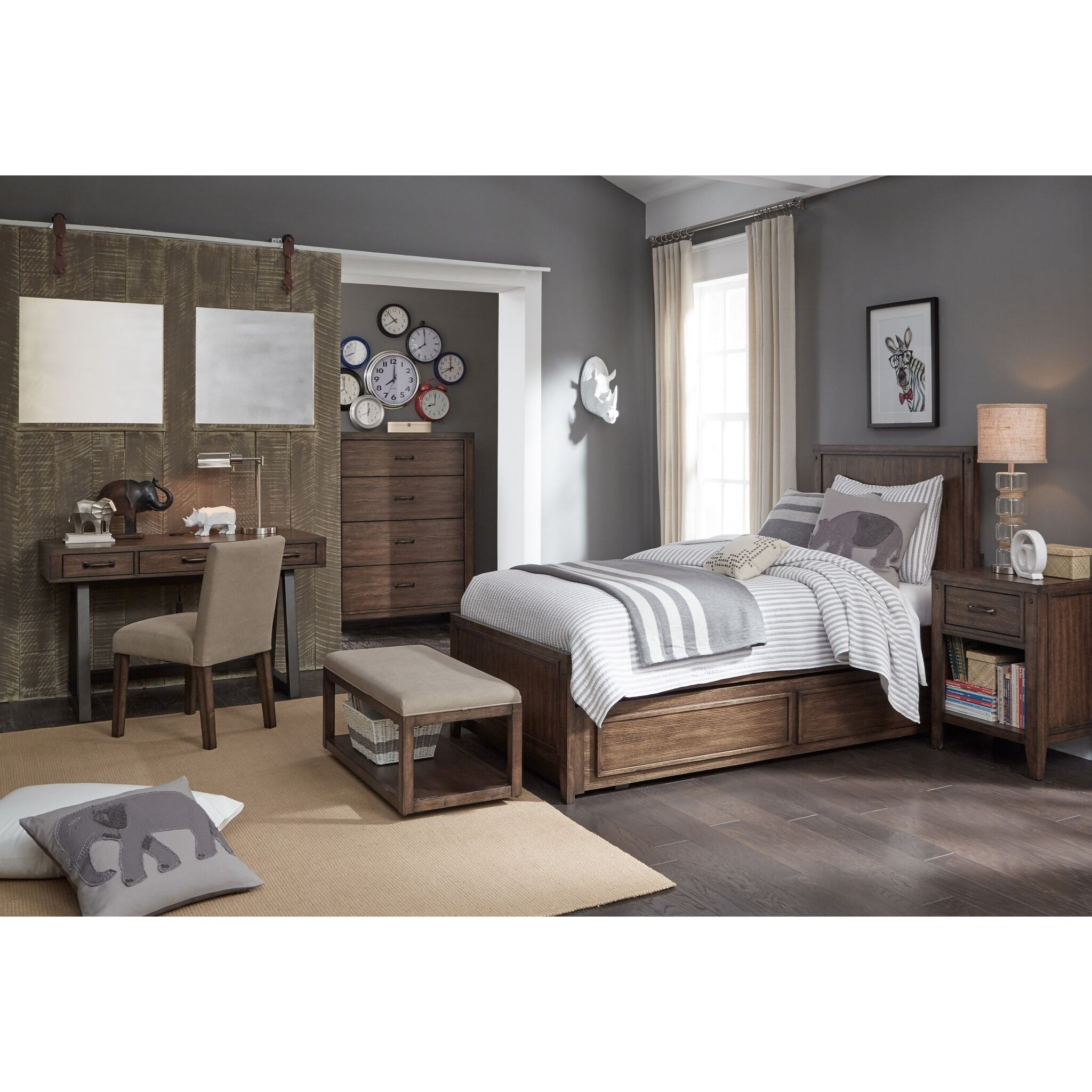 Bon Legacy Classic Kids Sawyers MillFull Bedroom Group