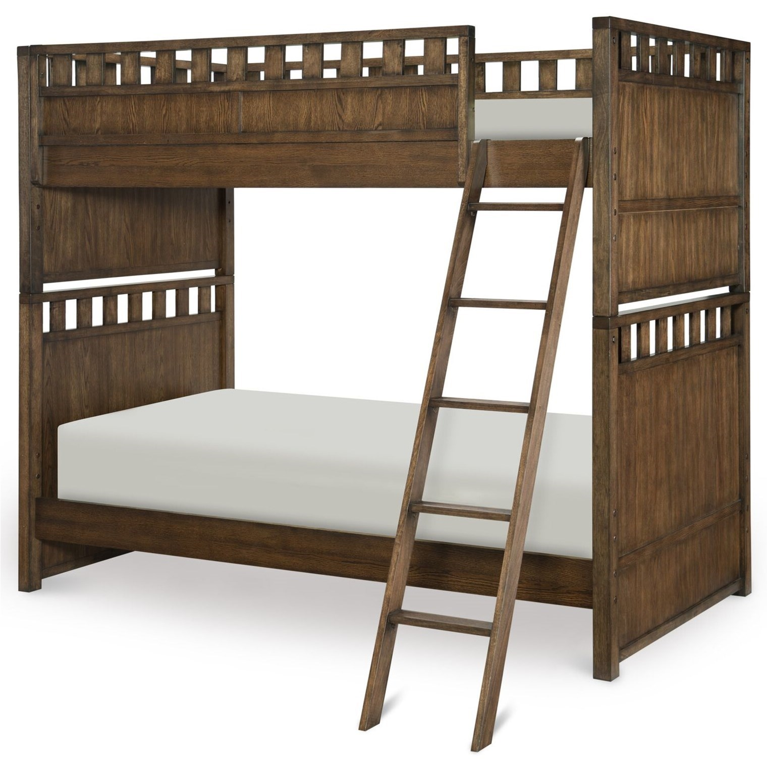 Genial Legacy Classic Kids Sawyers MillTwin Over Twin Bunk Bed ...