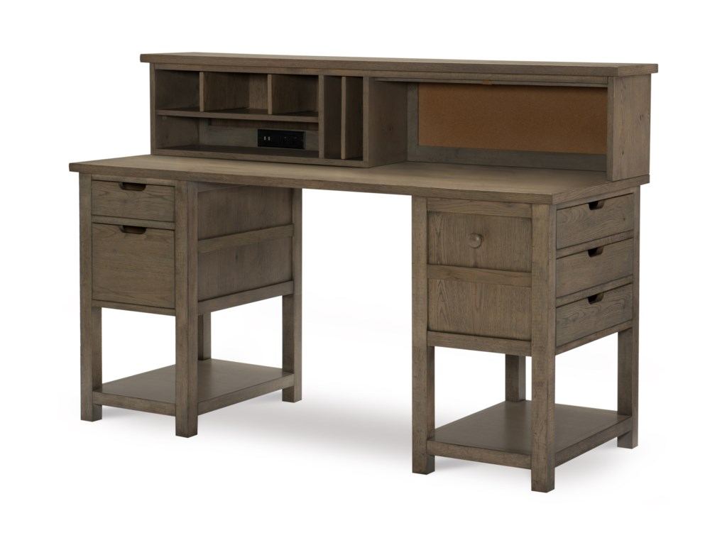 Legacy Classic Kids Study HallJr. Executive Hutch Desk