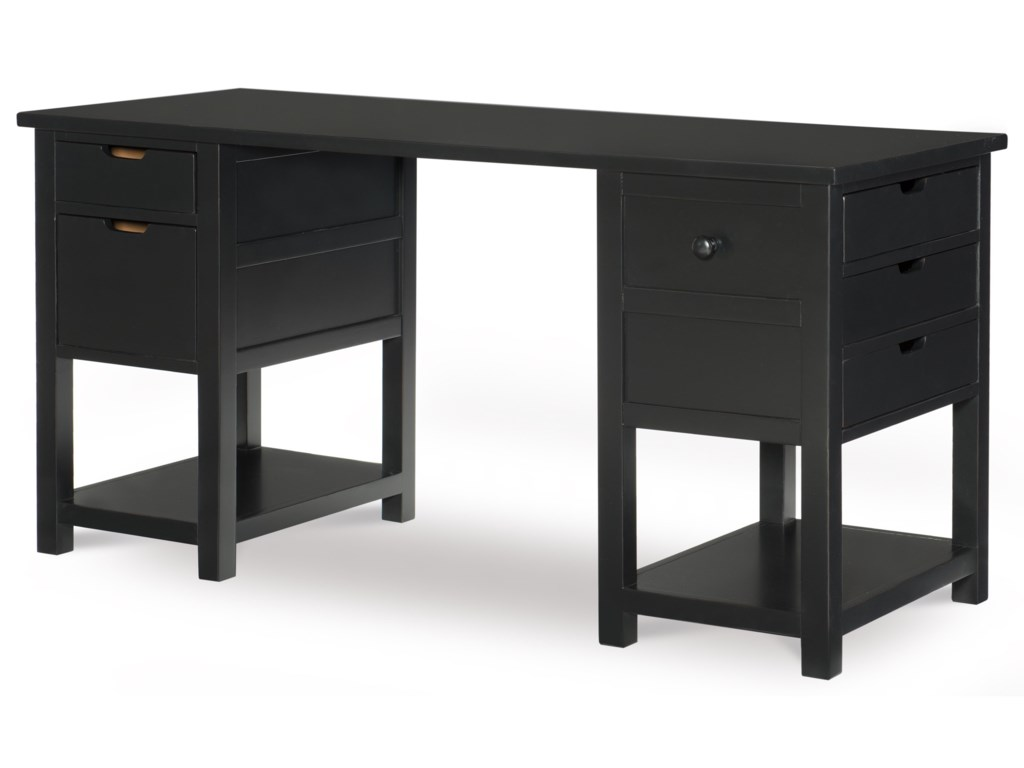 Legacy Classic Kids Study Hall Jr. Executive Desk with Hidden ...