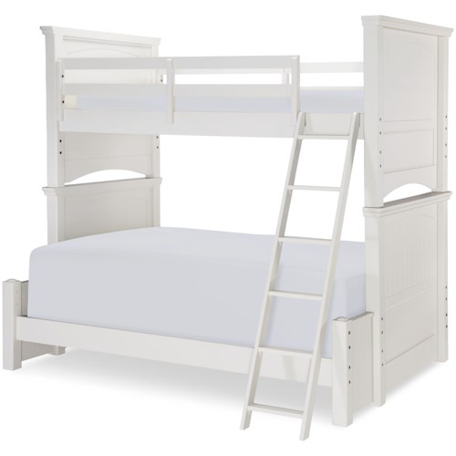 Legacy Clic Kids Summerset Twin Over Full Panel Bunk Bed