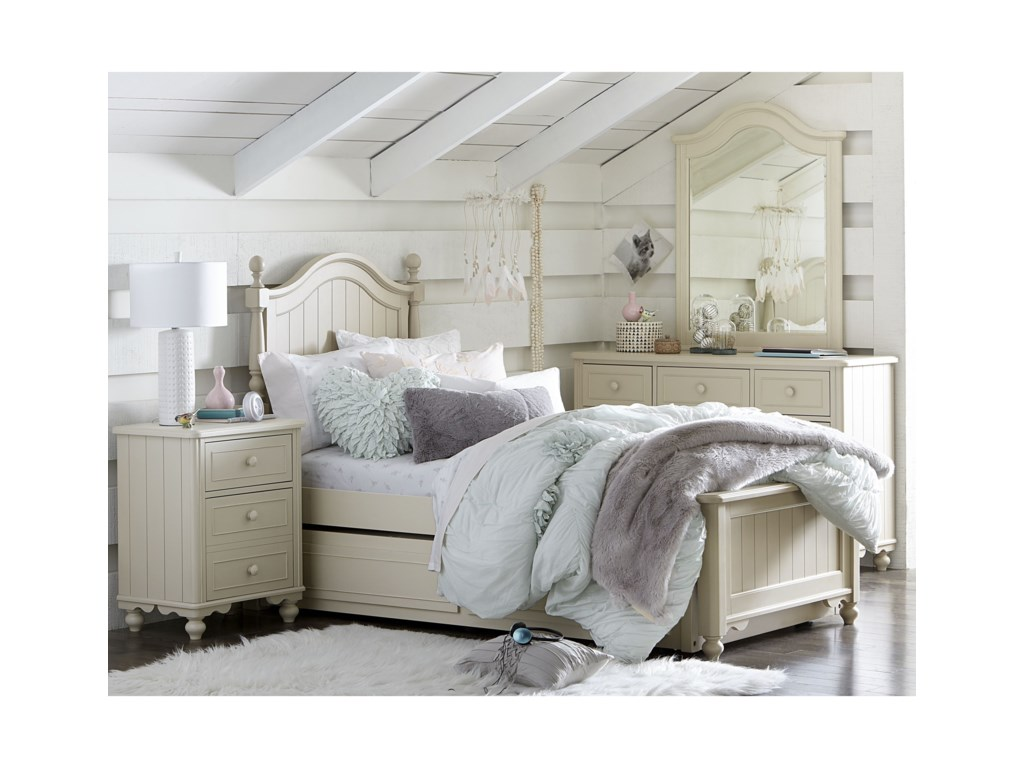 Legacy Classic Kids SummersetTwin Low Poster Bed