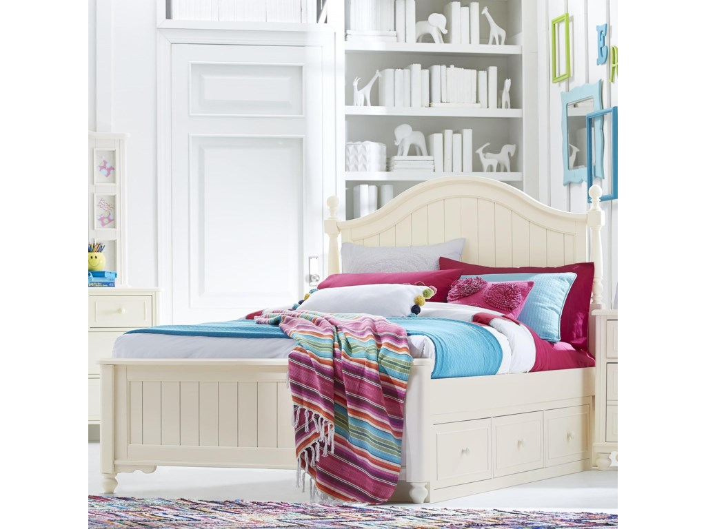 Legacy Classic Kids SummersetFull Bed with Storage Drawer
