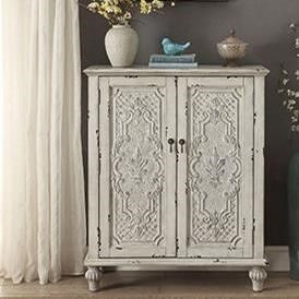 Legends Furniture Anthology Brittney Antique White 2-Door Chest