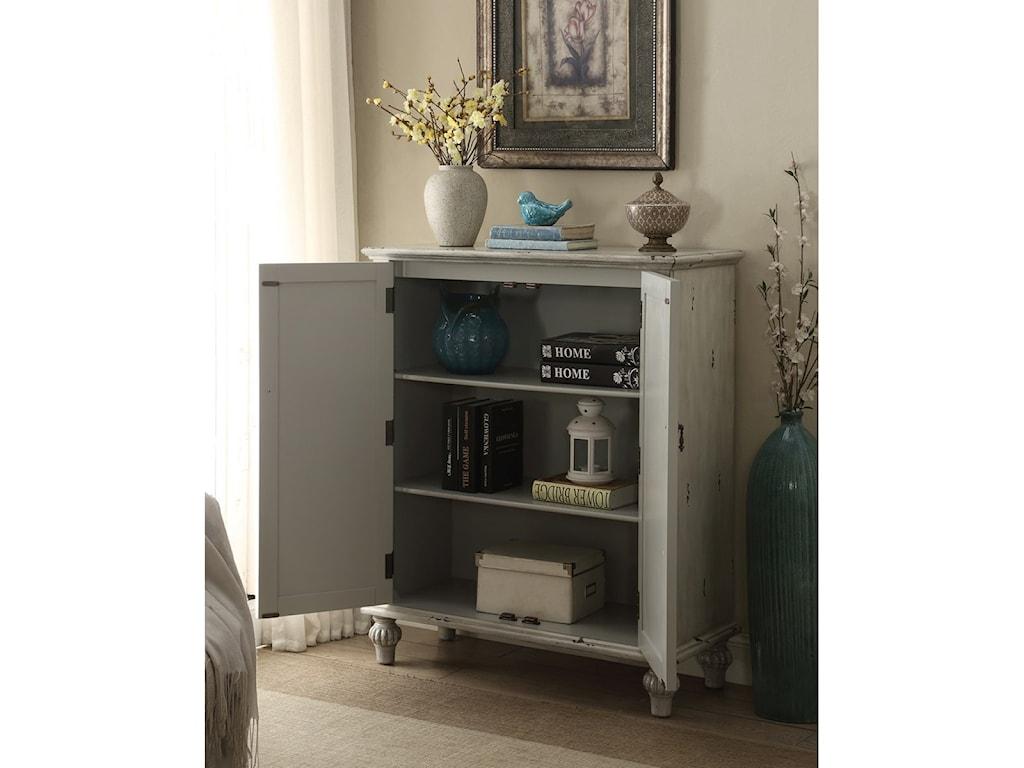 Legends Furniture AnthologyBrittney Antique White 2-Door Chest