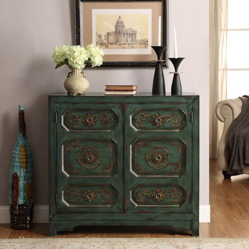Legends Furniture Anthology Phoenix Chest with Distressed Look