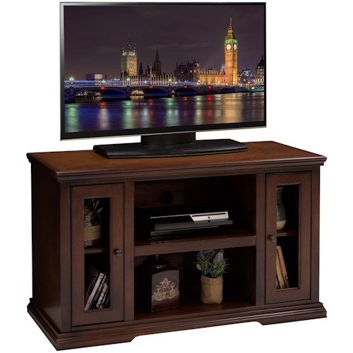 Ashton Place 62 Inch Tall Tv Cart Legends Furniture: Legends Furniture Ashton Place 44 Inch TV Cart With Door