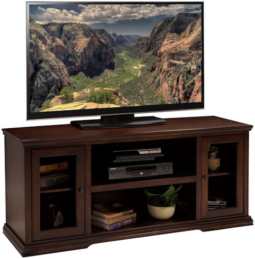 Legends Furniture Ashton Place 62 Inch TV Console with Door and Shelf Storage
