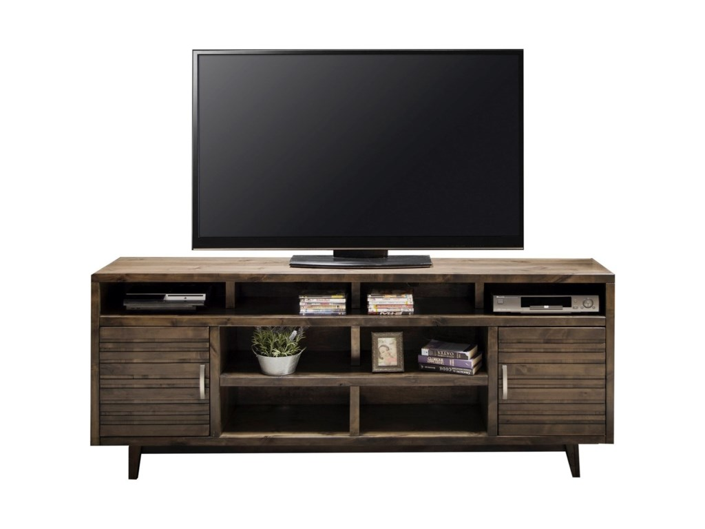 Legends Furniture Avondale Mid Century Modern 84 Tv Console With