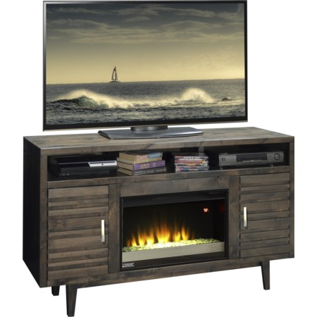 """61"""" Fireplace Console"""