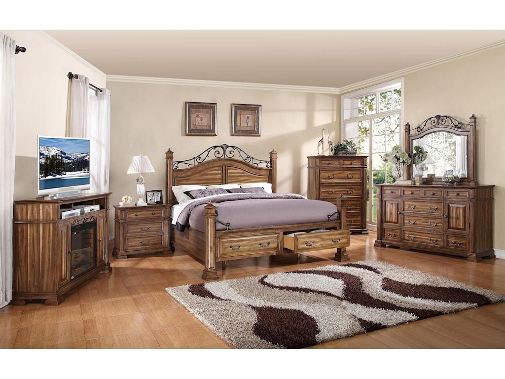 Legends Furniture BarclayQueen Storage Bed