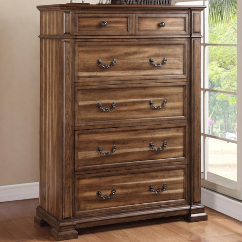 Legends Furniture Barclay Chest with 6 Drawers