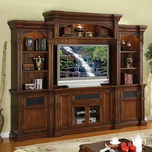 Legends Furniture Berkshire Wall Unit Entertainment Center