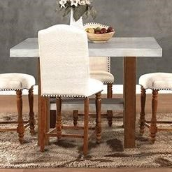 Legends Furniture BohemianCement Top Counter Height Table