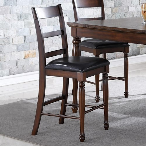 Legends Furniture Breckenridge Breckenridge Counter Height Stool with Upholstered Seat