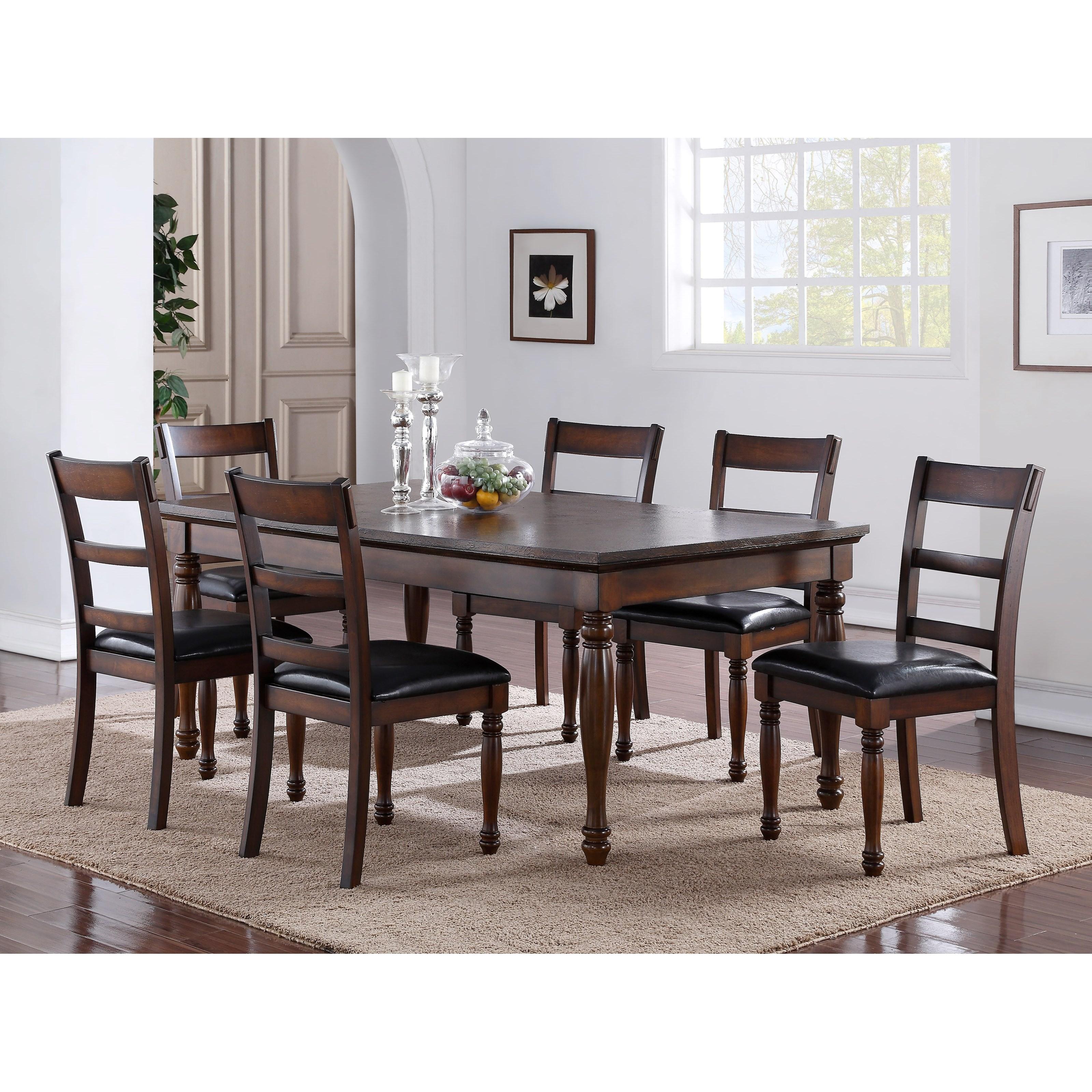 Legends Furniture Breckenridge 7 Piece Table U0026 Chair Set