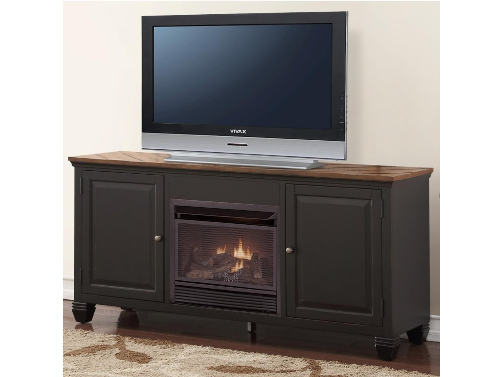 Legends Furniture BrightonFireplace Console