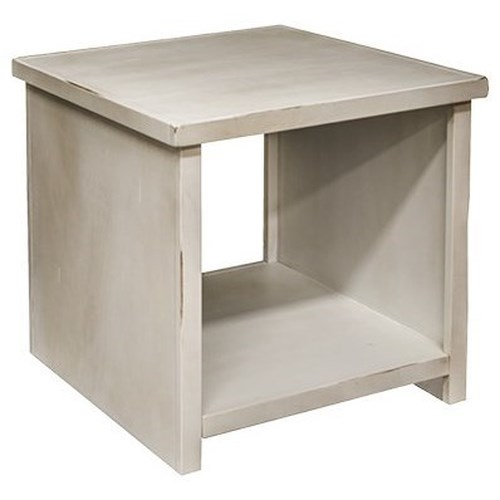 Legends Furniture Calistoga Collection Calistoga Blue End Table