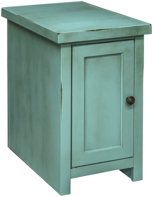 Legends Furniture Calistoga Collection Calistoga Chair Table with Door