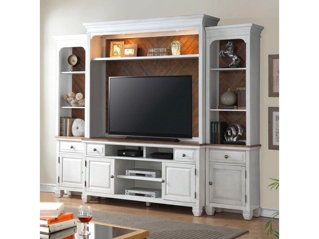 Legends Furniture Camden CollectionEntertainment Wall Console