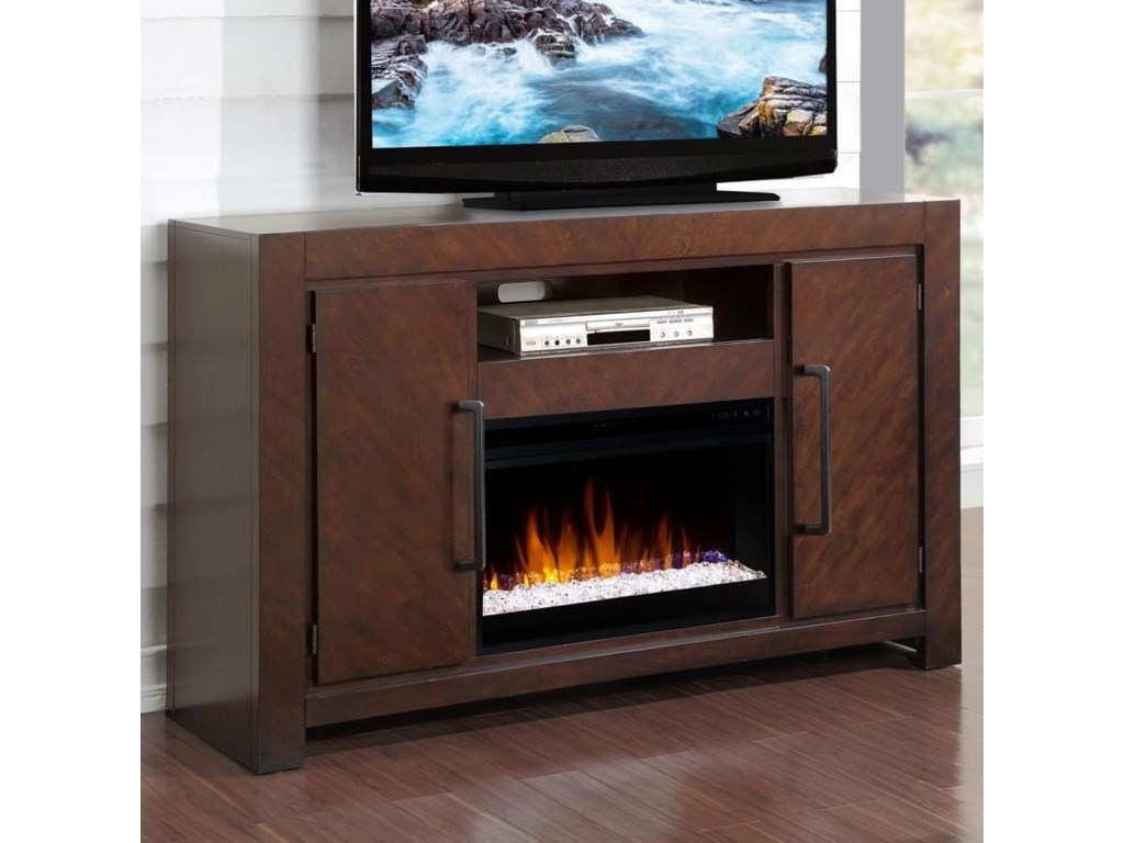 Legends Furniture City LightsFireplace Console