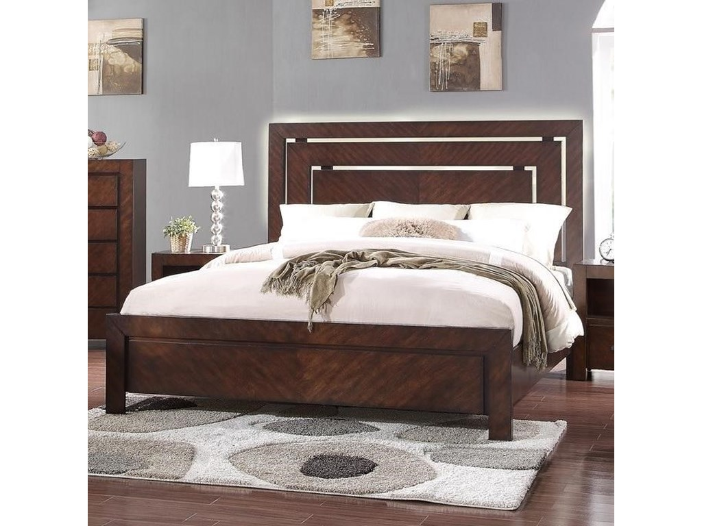Legends Furniture City LightsCalifornia King Panel Bed
