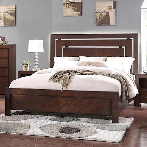 Legends Furniture City Lights King Panel Bed