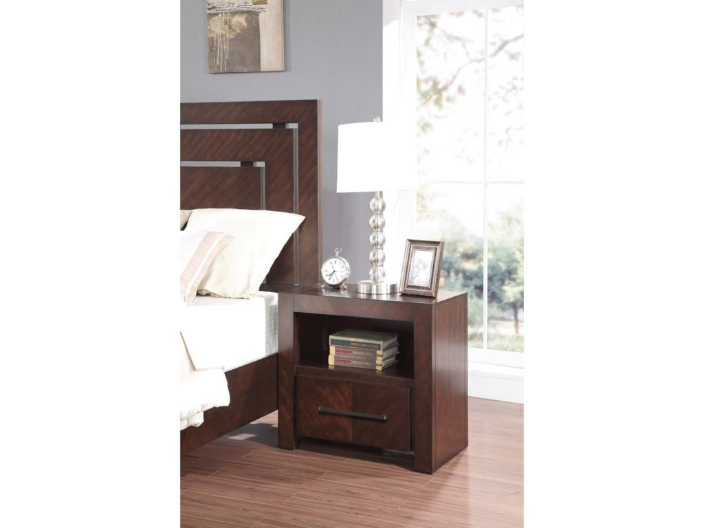 Legends Furniture City LightsNight Stand with USB Ports