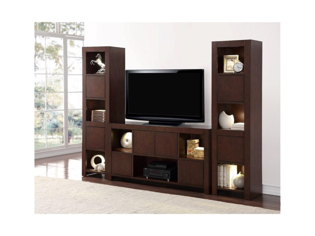 Legends Furniture City LightsCity Lights Wall Unit with 2-Piers