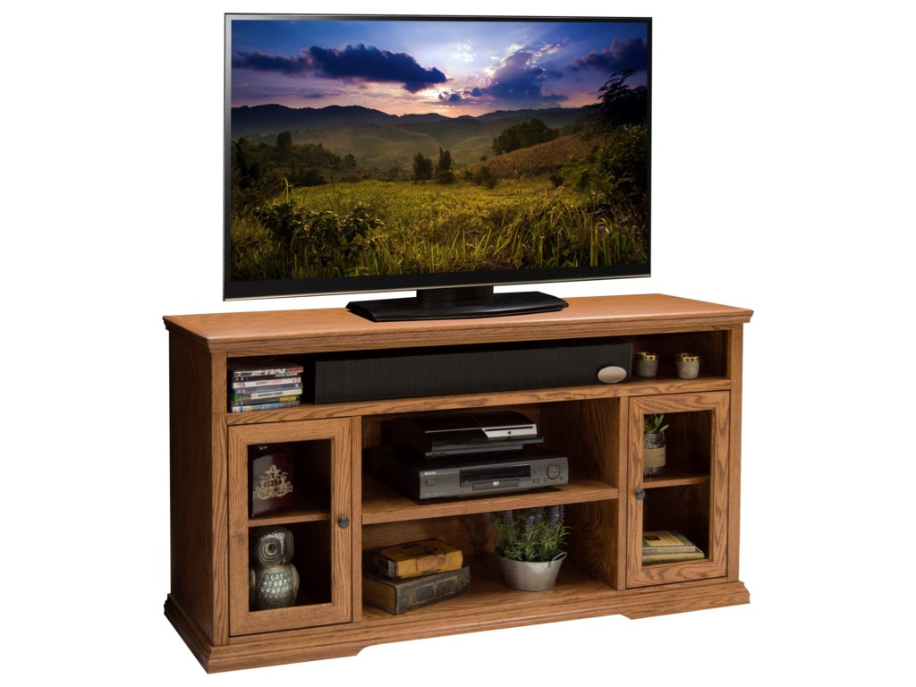 Legends Furniture Colonial Place62-Inch Tall TV Cart