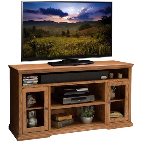 Legends Furniture Colonial Place Two Door 62-Inch Tall TV Cart