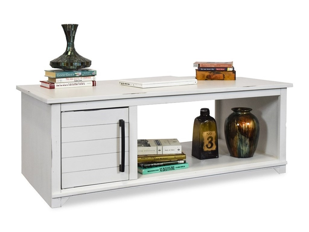Legends Furniture CottageCoffee Table with Doors