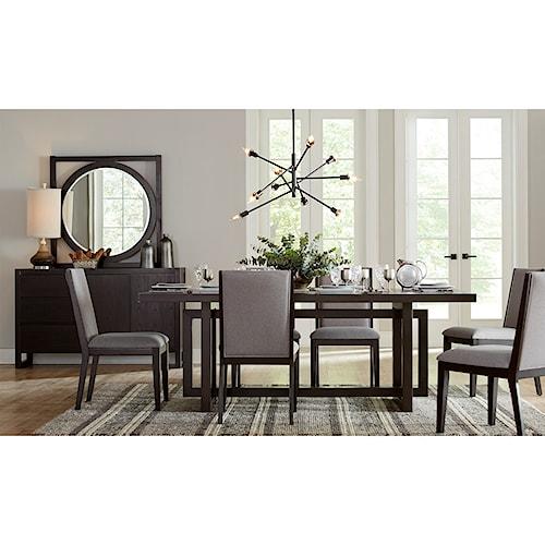 Legends Furniture Crosby Street Formal Dining Room Group