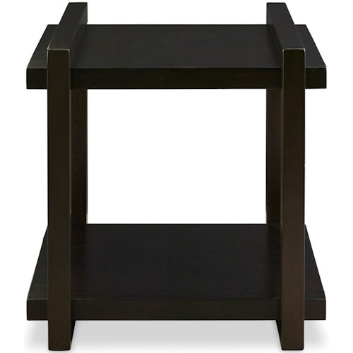 Legends Furniture Crosby Street Contemporary End Table