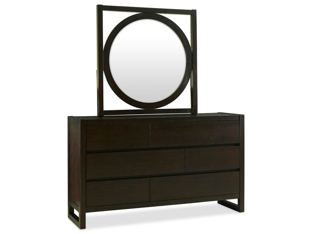 Legends Furniture Crosby StreetDresser and Mirror Set