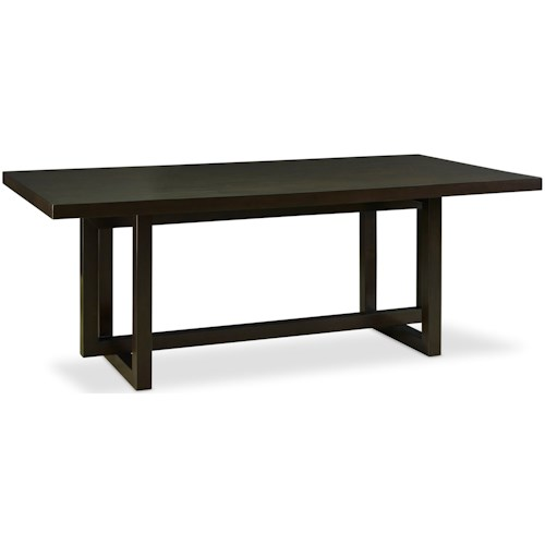 Legends Furniture Crosby Street Contemporary Trestle Table