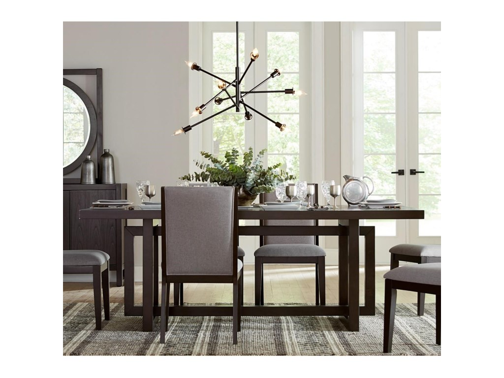 Legends Furniture Crosby StreetTrestle Table