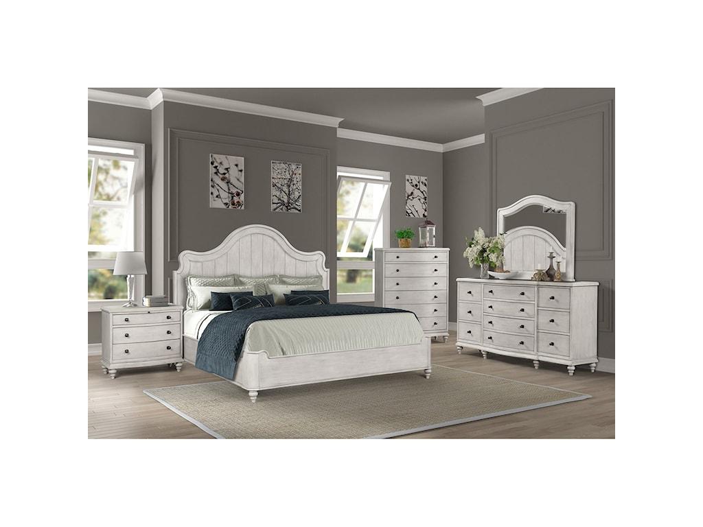 Legends Furniture DelilahQueen Bedroom Group