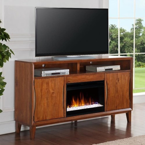 Legends Furniture Evo Evo Fireplace Console with Remote