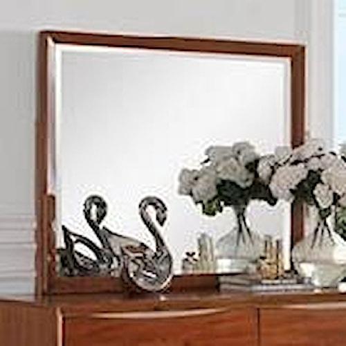 Legends Furniture Evo Evo Mirror with Wood Frame