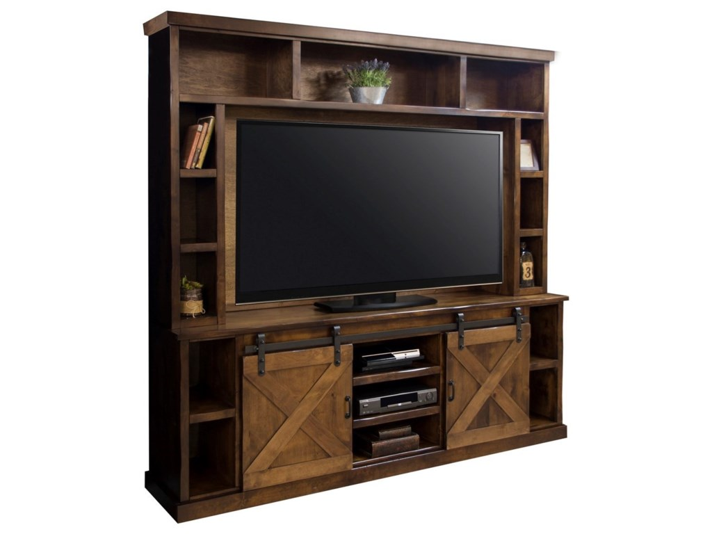Legends Furniture Farmhouse CollectionEntertainment Wall Console