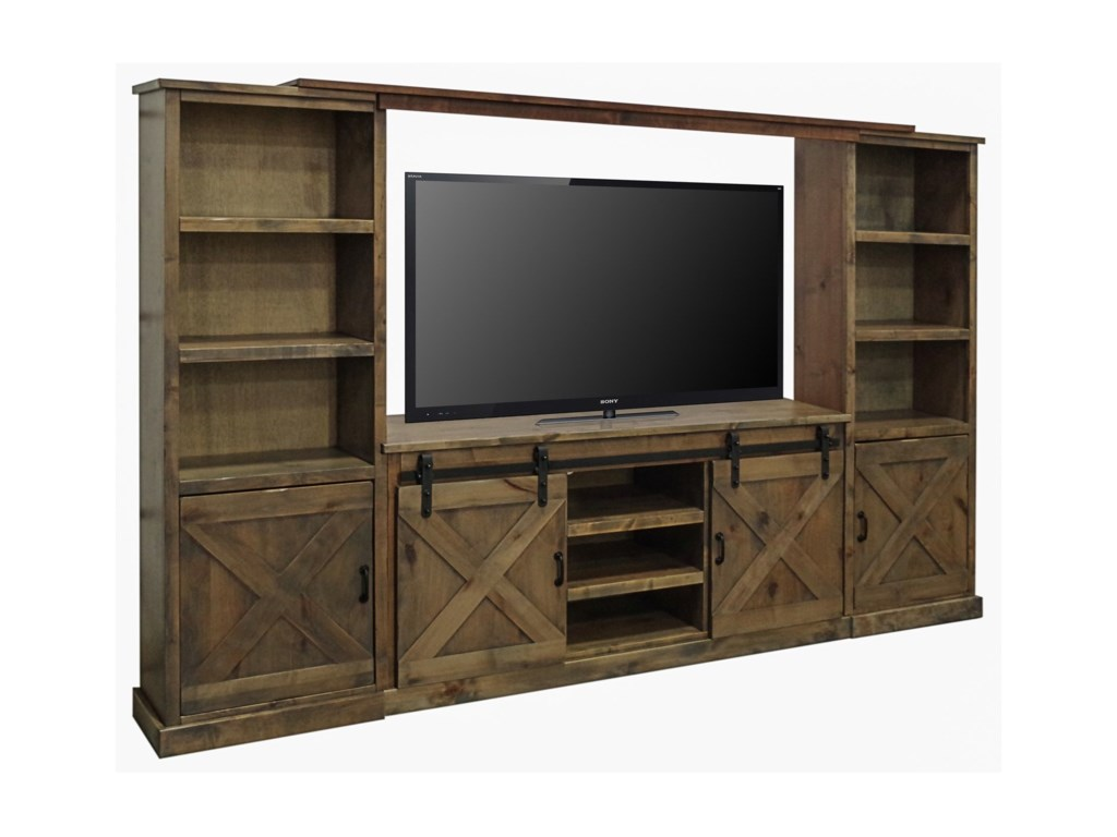 Legends Furniture Farmhouse CollectionEntertainment Wall Unit