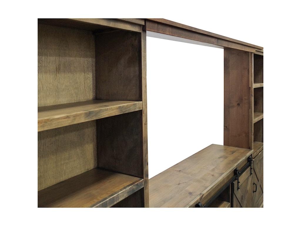 Legends Furniture Farmhouse CollectionEntertainment Wall Unit