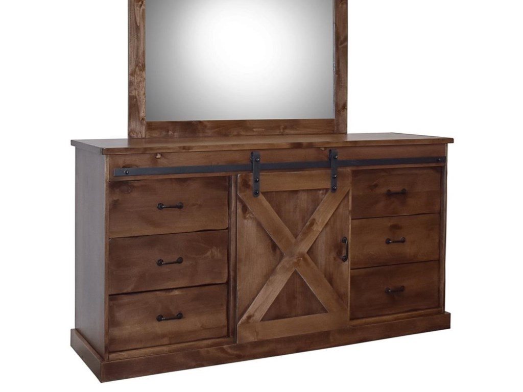 Legends Furniture Farmhouse CollectionDeluxe Dresser