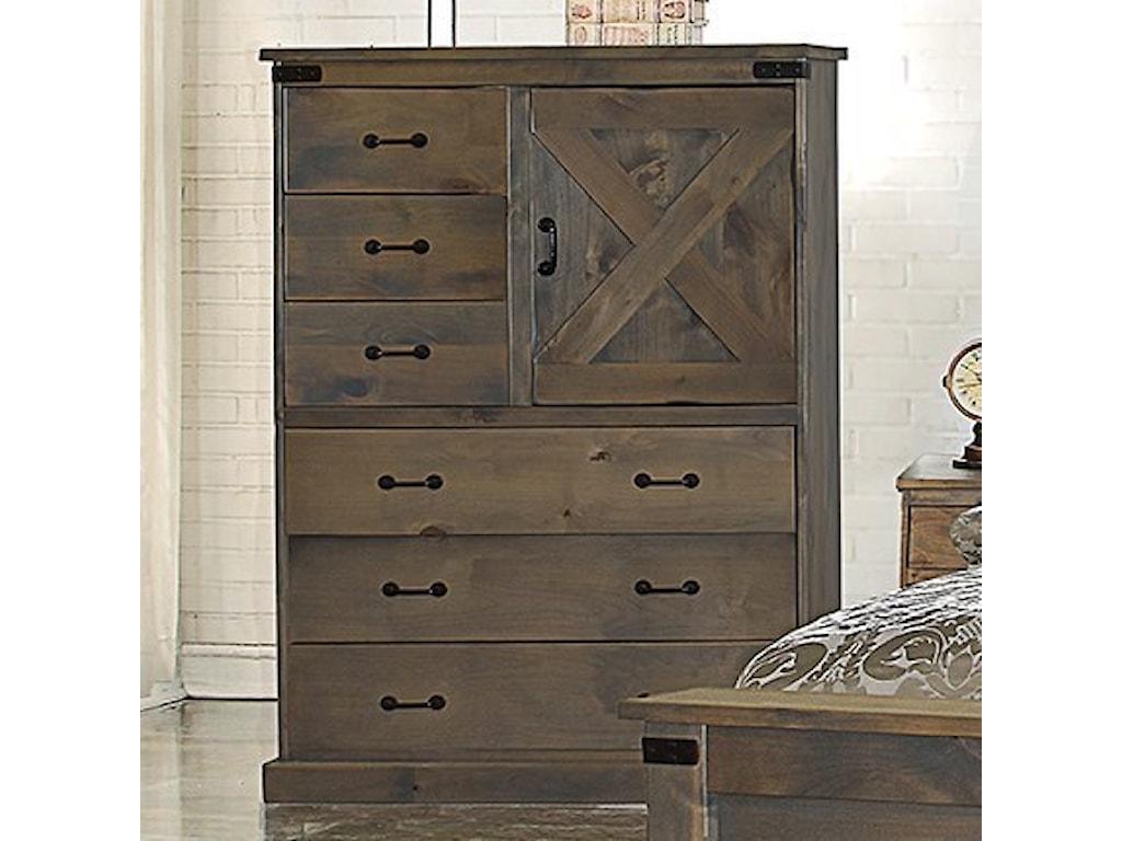 Legends Furniture Farmhouse CollectionDoor Chest