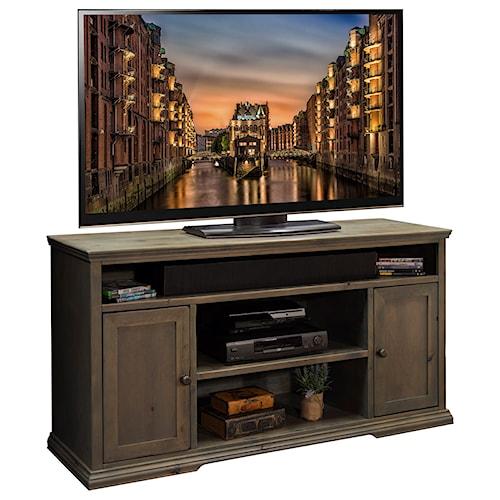 Legends Furniture Greyson Rustic 62