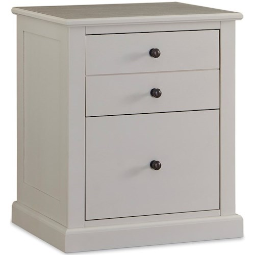 Legends Furniture Hayden 2 Drawer Office File Cabinet