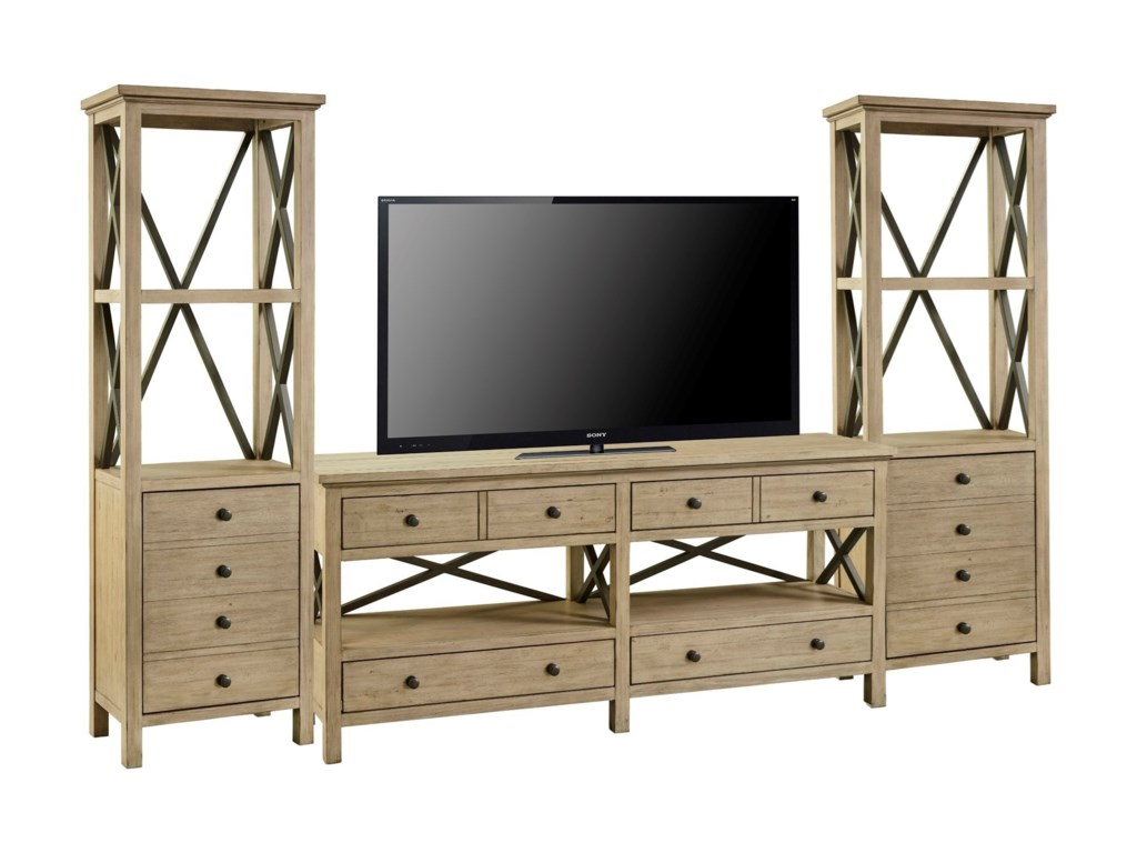 Legends Furniture HideawayEntertainment Wall Unit